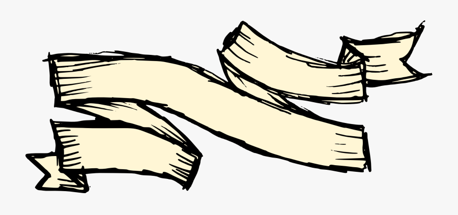 Banner Drawing At Getdrawings - Transparent Png Drawn Banner, Transparent Clipart