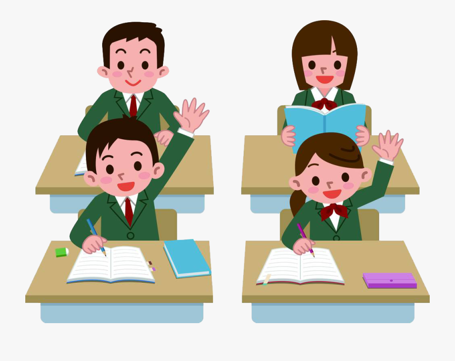 Student Clipart Png - Student In Class Png, Transparent Clipart