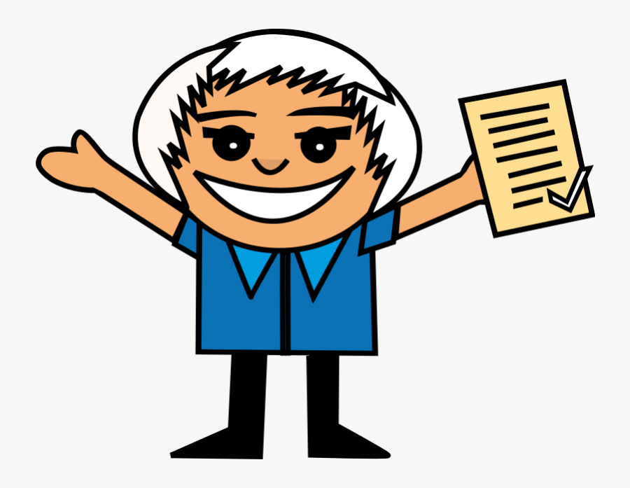 Happy Student Clipart Png Transparent Png , Png Download - Png Gif Cartoon Student, Transparent Clipart