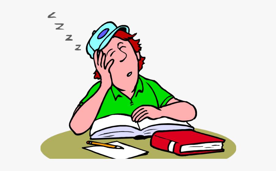 Sleepy Student Png - Nod Off, Transparent Clipart