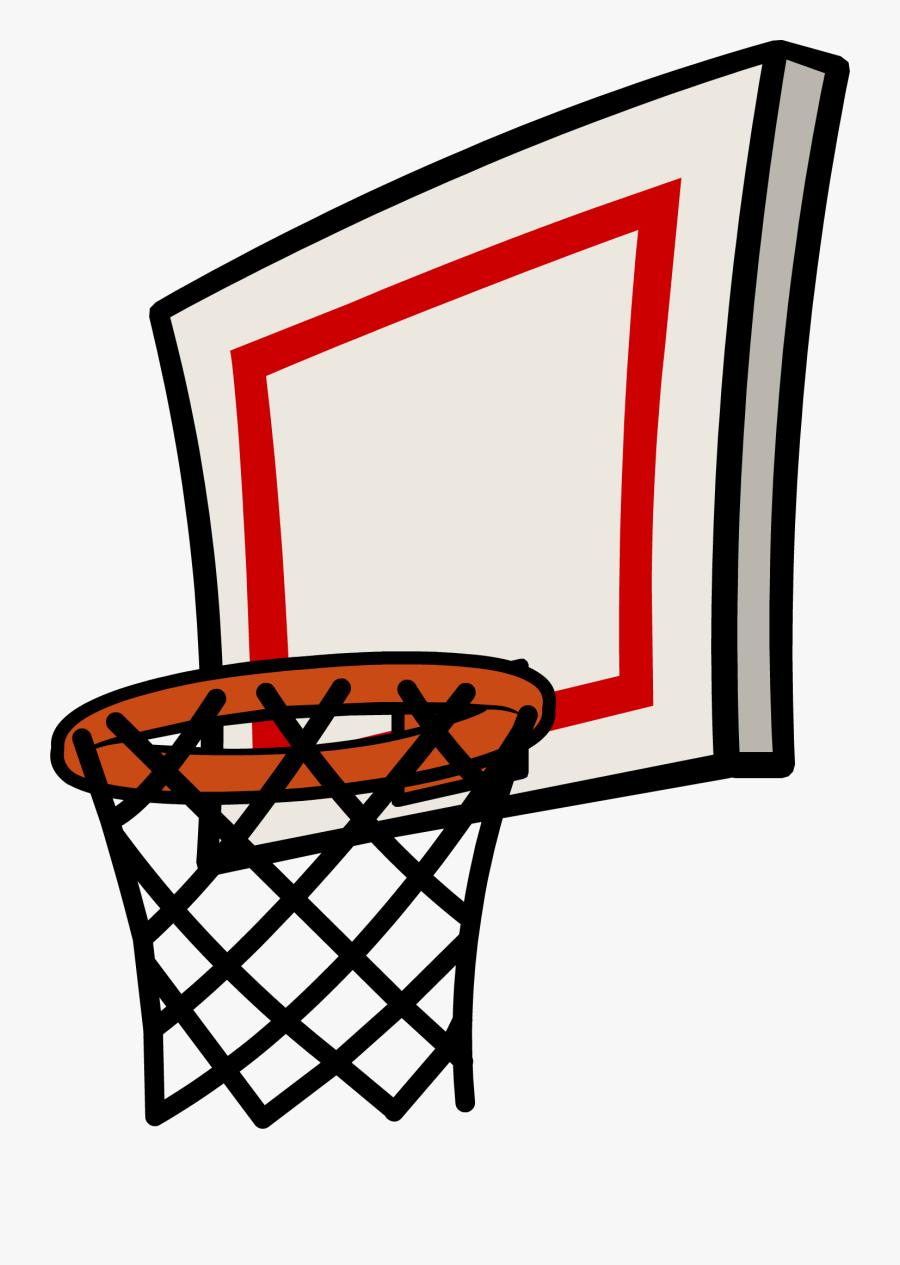 Basketball Net Clipart - Basketball Ring Vector Png, Transparent Clipart