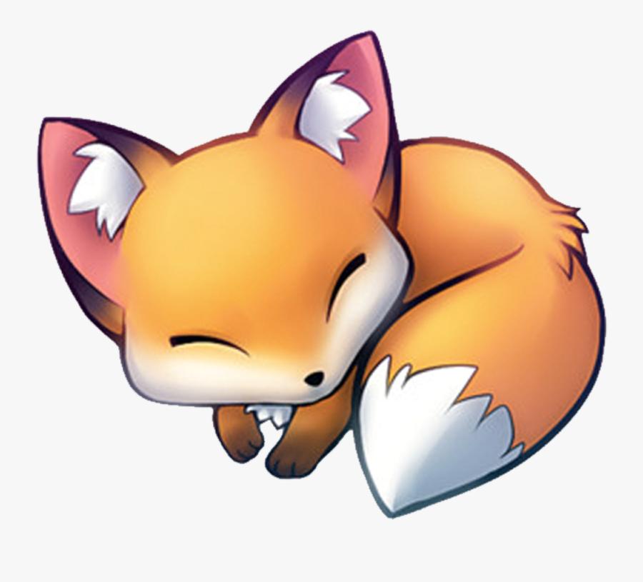 1000 X 1000 - Cute Anime Fox, Transparent Clipart