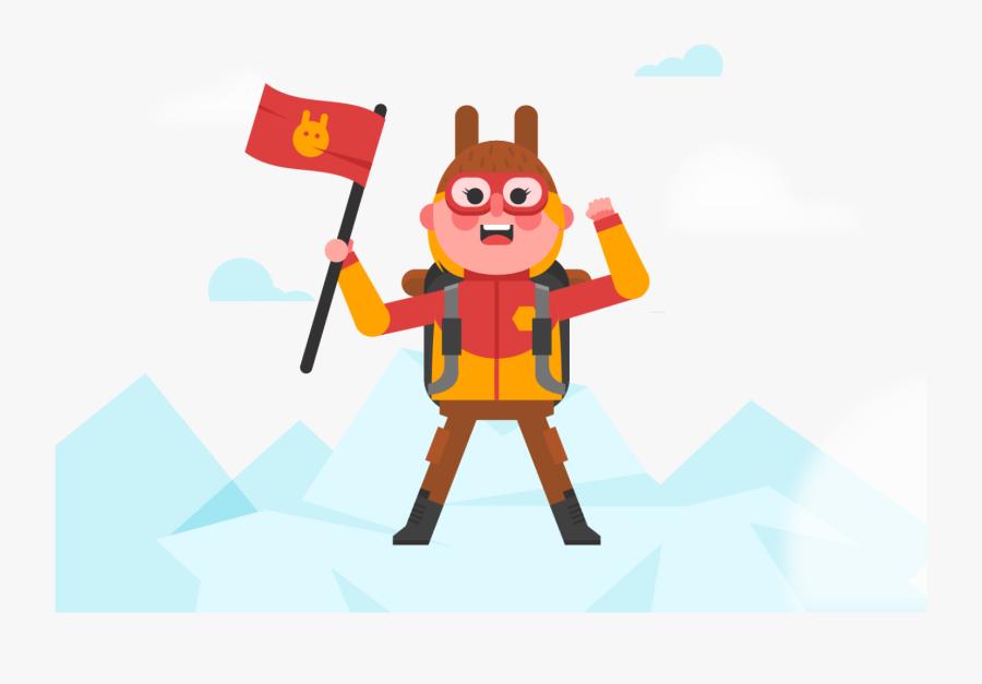 Clipart Animals Climbing - Mount Everest, Transparent Clipart