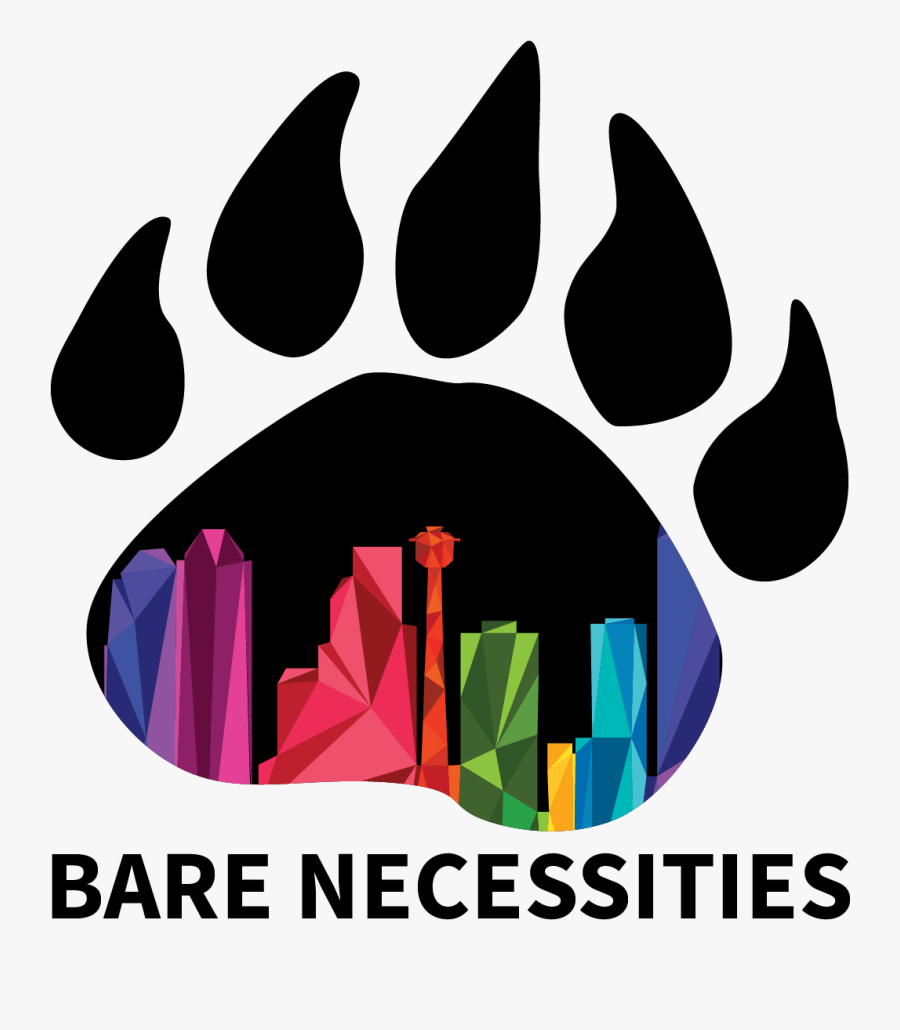 I Also Created Some Logos For New Projects That Were - Spirit Bear Paw, Transparent Clipart