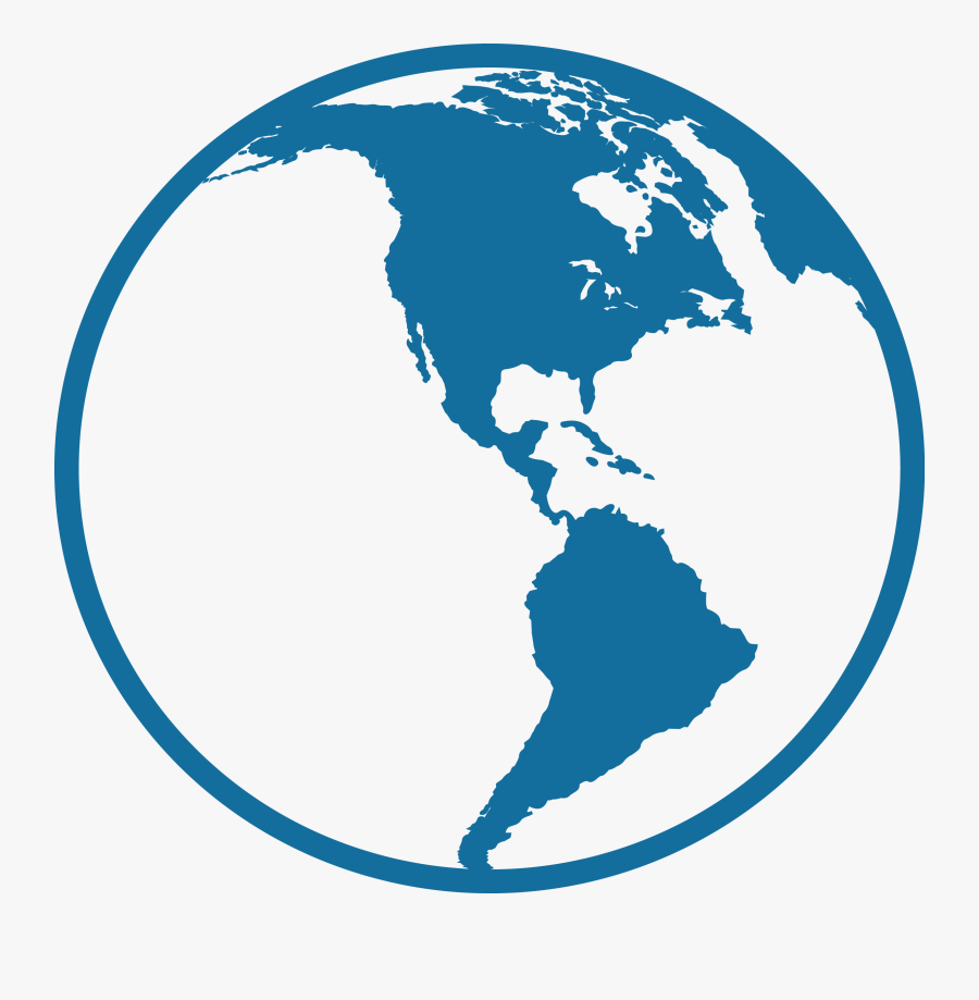 Our Company Database - Central And South America Icon, Transparent Clipart