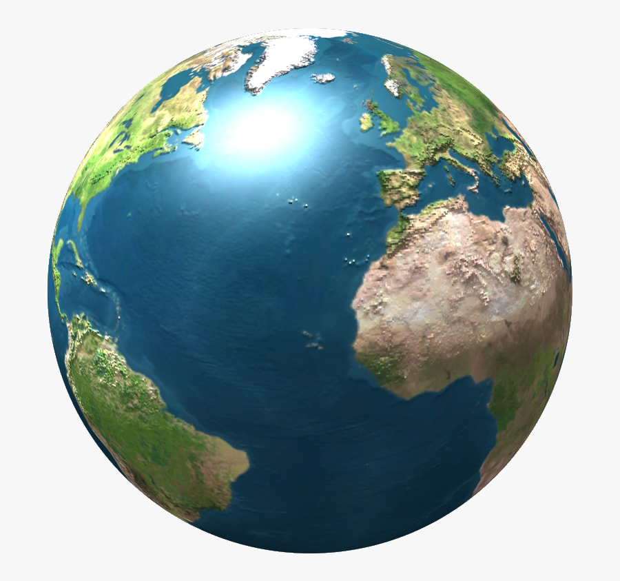 File Terra Globe Icon Wikimedia Commons - Earth Png 3d, Transparent Clipart