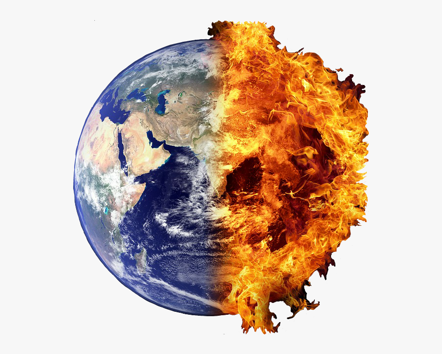 Transparent World Globe Clipart - Earth Hot And Cold, Transparent Clipart