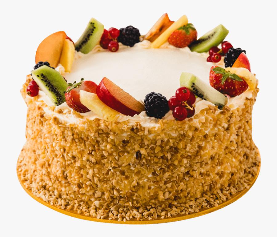 Fruit Cake, Transparent Clipart