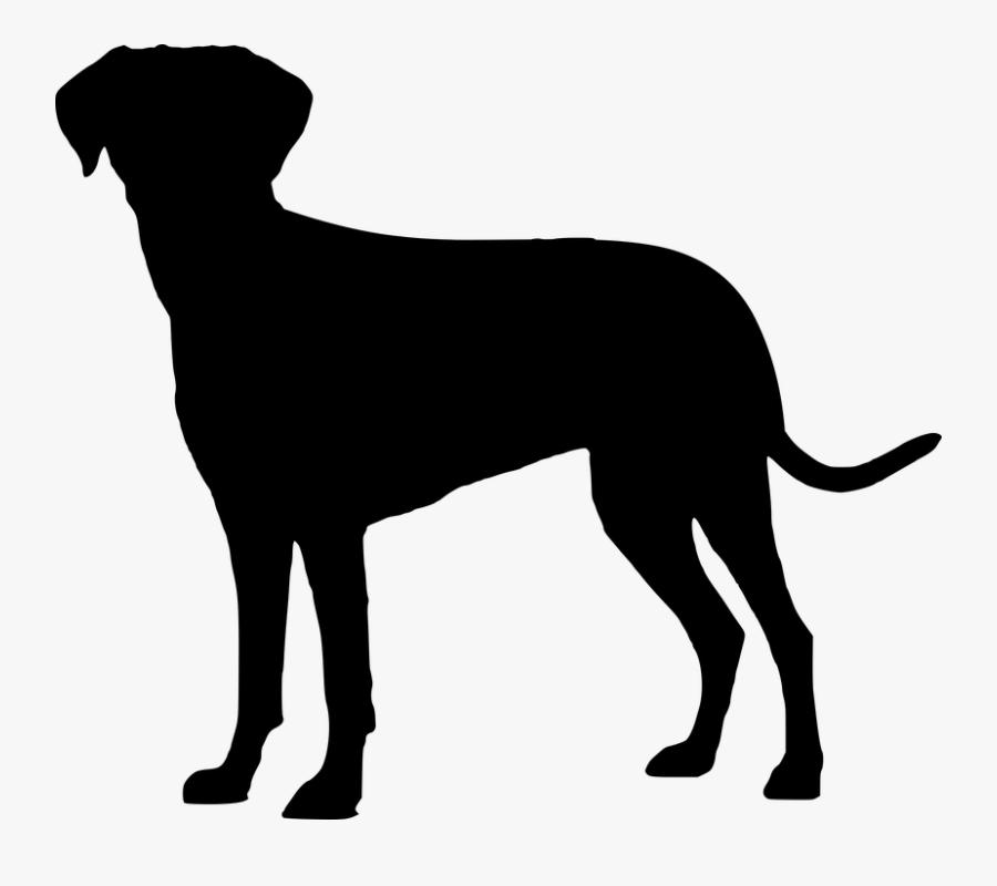 Labrador Retriever Puppy Image Clip Art Dog Breed - Cachorro Silhueta Png, Transparent Clipart