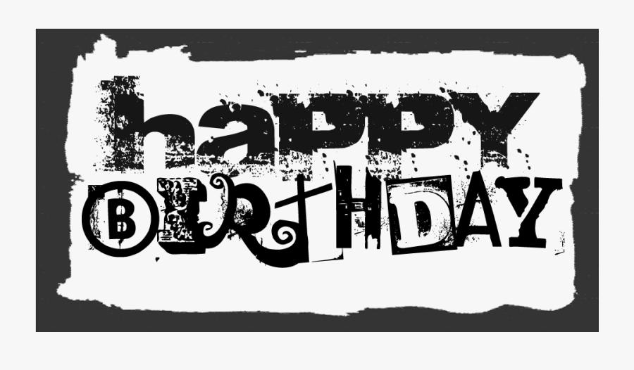 Transparent Birthday Clipart For Man, Transparent Clipart