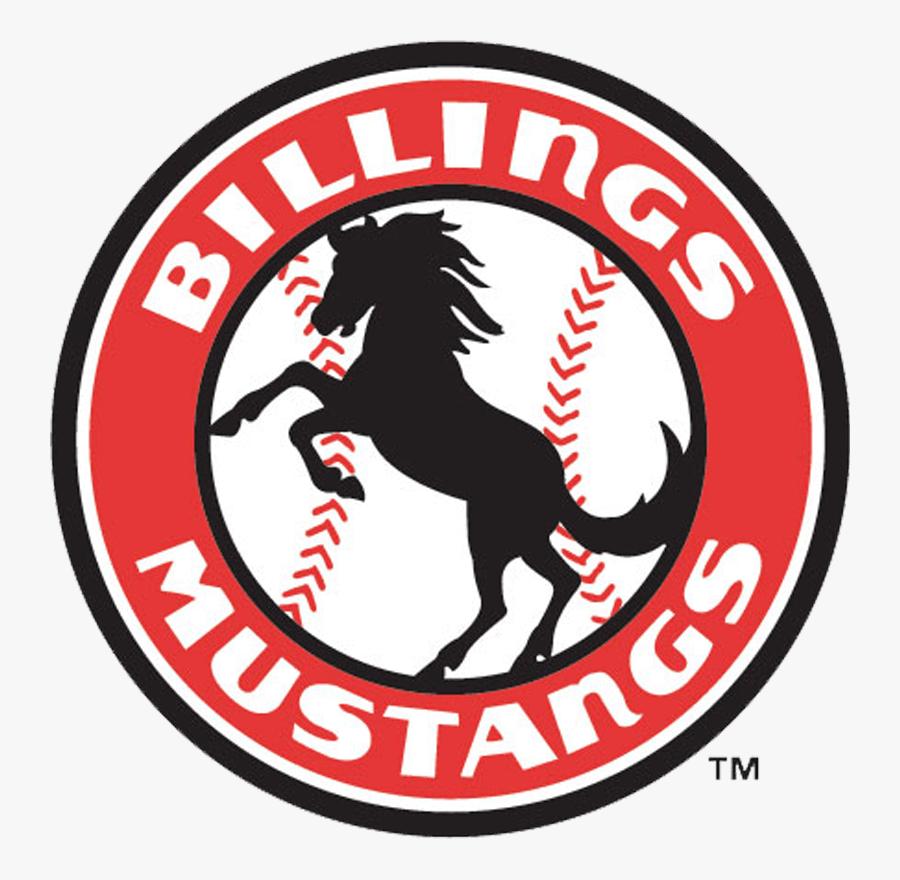 Billings Mustangs, Transparent Clipart