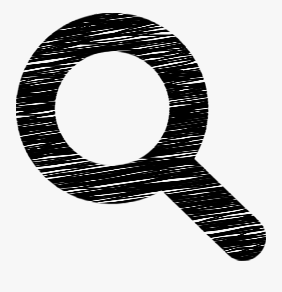 Search Magnifying Glass Icon - Transparente Icono, Transparent Clipart