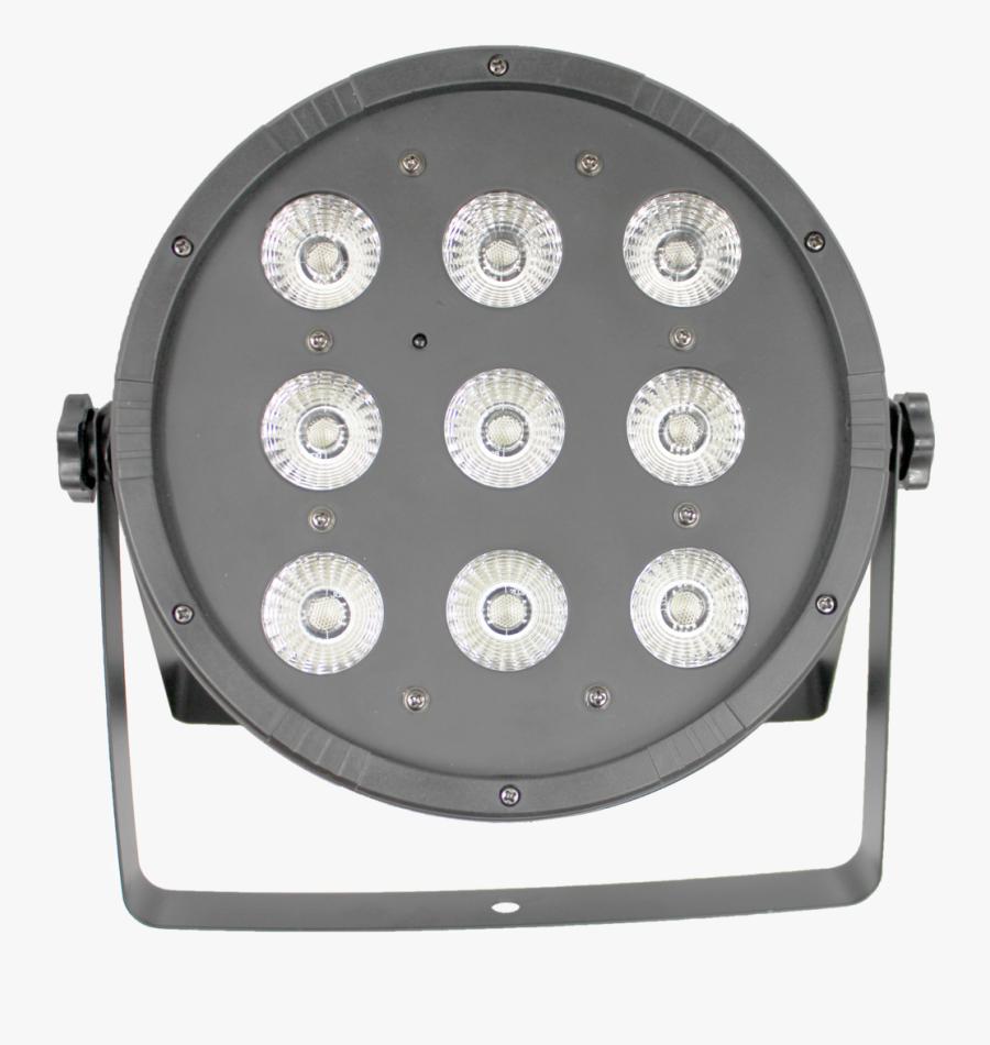 Lam-41169 Stage Lighting Led 9pcs X Rgbw 4 In 1 Dmx512 - Light, Transparent Clipart