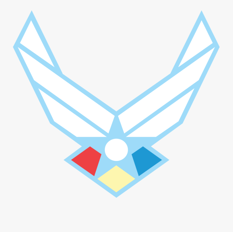 Clip Art Of Air Force Logo Clipart - Air Force Symbol Svg, Transparent Clipart