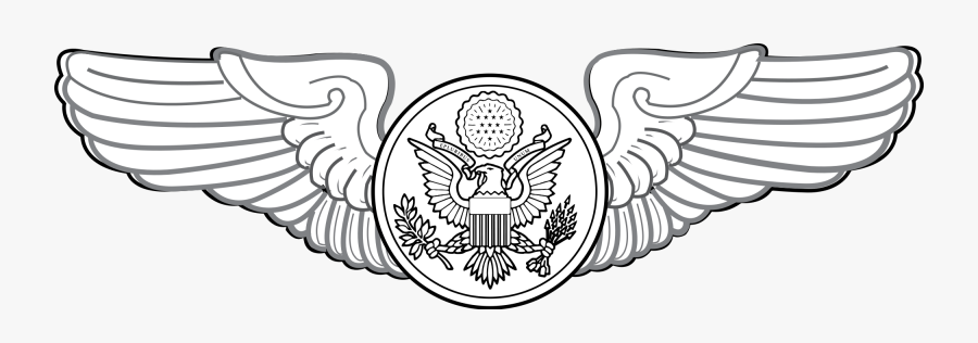 Air Force Wings Clipart - Air Force Enlisted Wings, Transparent Clipart