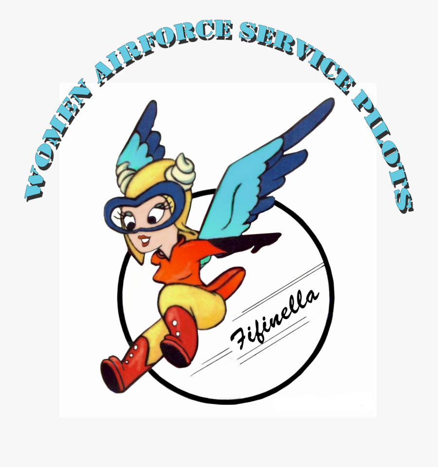 Women Airforce Service Pilots Flew The P-38 Lightning - Women Airforce Service Pilots Logo, Transparent Clipart