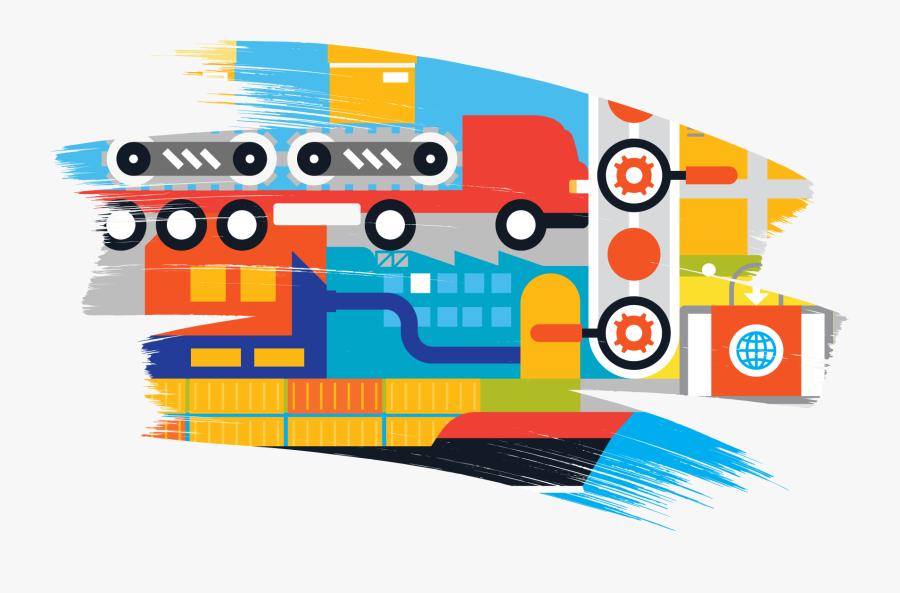 Supply Chain Management, Transparent Clipart