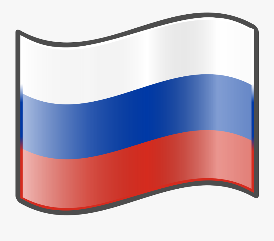 Nuvola Russian Flag Cartoon Russian Flag- - Russia Flag Cartoon Png, Transparent Clipart