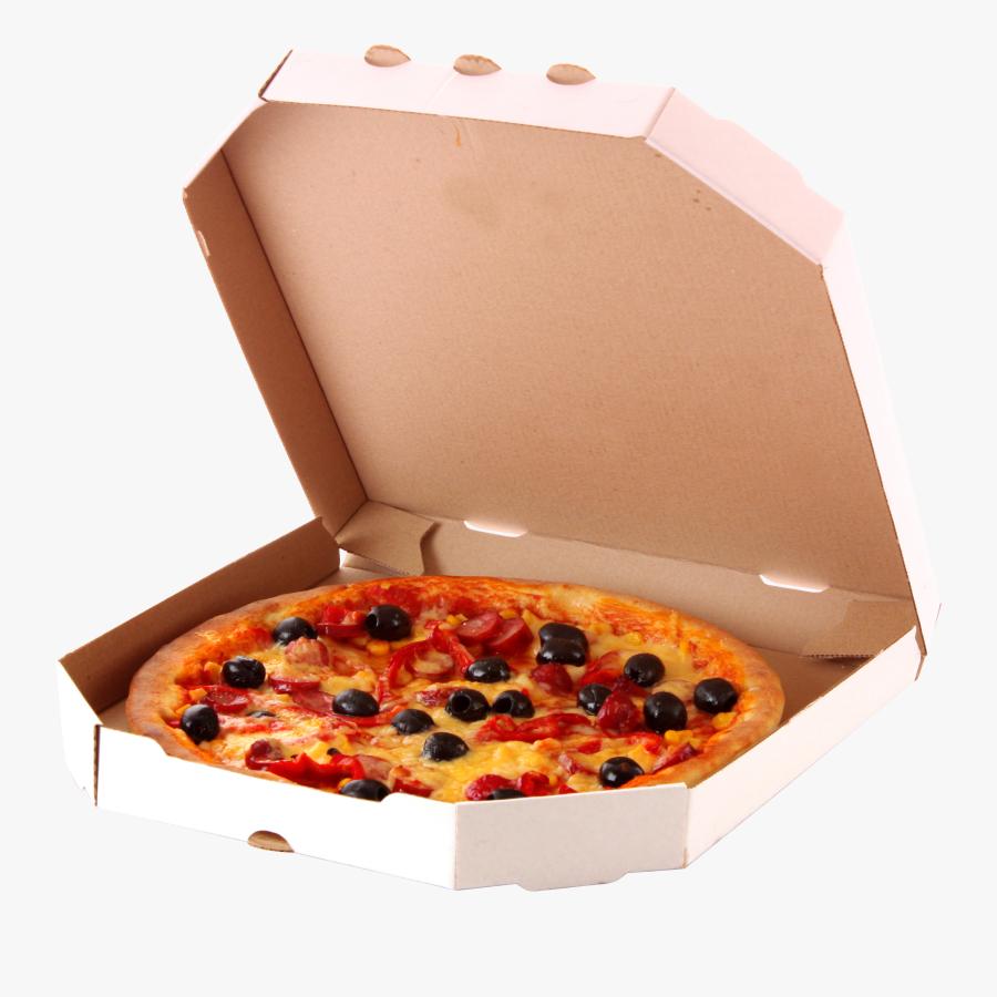 Transparent Pizza Box Png - Pizza In Box Png, Transparent Clipart