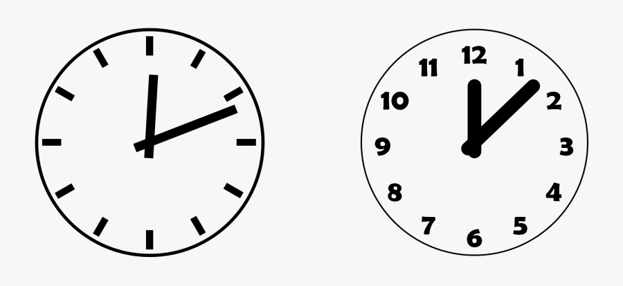 Drawing In Powerpoint Clock Icons Powerpointy - Transparent Background Clock Clipart, Transparent Clipart