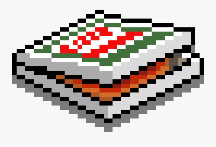 Transparent Pizza Box Png - Pizza Box Pixel Art, Transparent Clipart