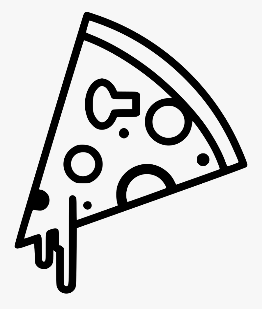 Transparent Pizza Box Clipart - Pizza Icon Png Free, Transparent Clipart