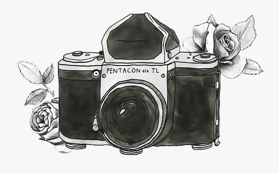 Tumblr Polaroid Camera Png - Png Camera, Transparent Clipart