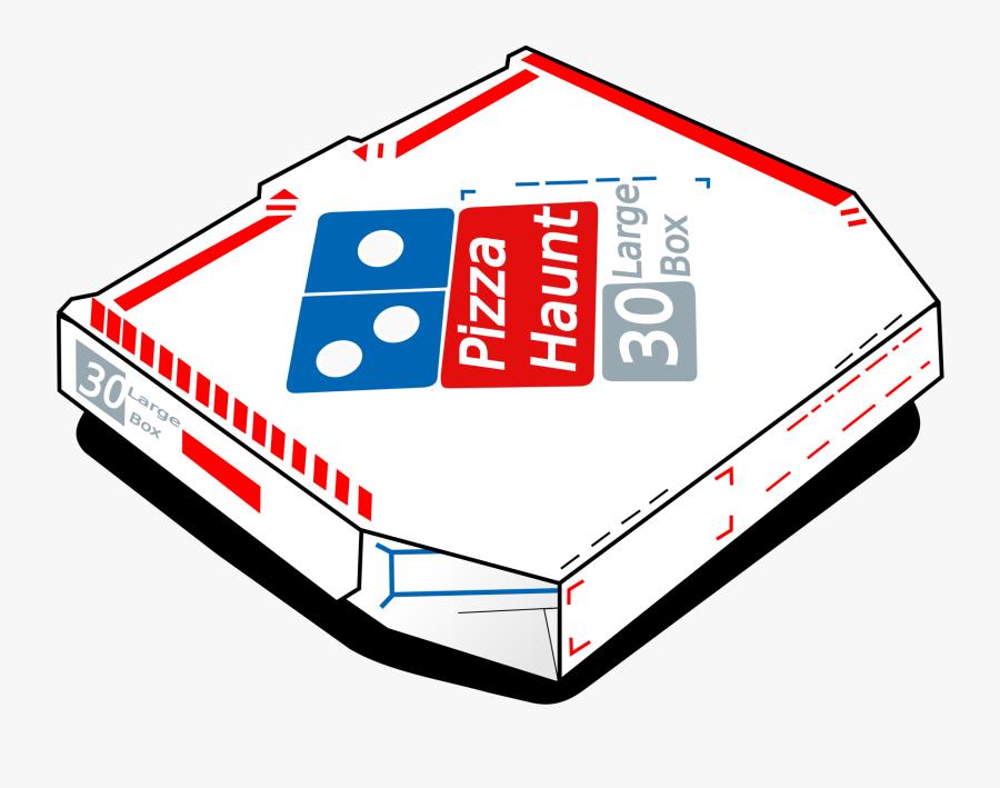 Pizza Haunt - Dominos Pizza Box Cartoon, Transparent Clipart