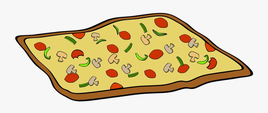 Pizza Clip Art, Transparent Clipart