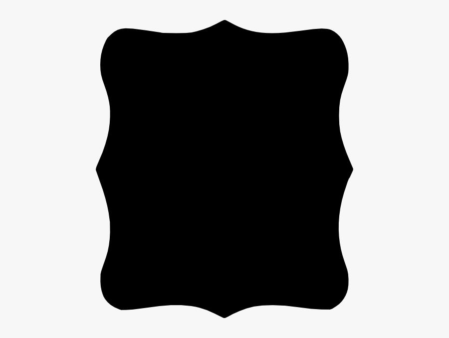 Bracket Frame Black Png, Transparent Clipart