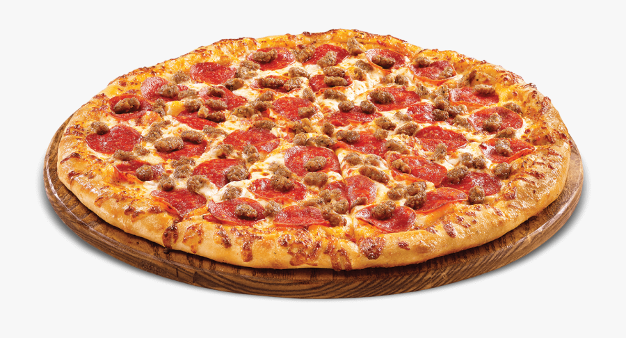 Clip Art Y Carne - Pepperoni And Beef Pizza, Transparent Clipart