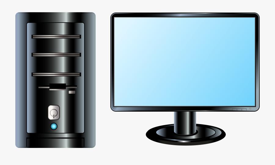 Desktop Pc Png Clip Art - Desktop Clip Art Png, Transparent Clipart