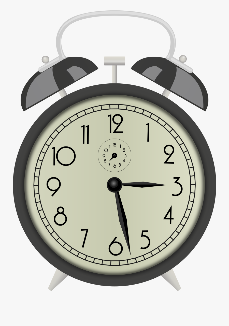 Clock, Clock Face, Alarm Clock, Bells, Retro, Analog - Alarm Clock Gif Transparent Background, Transparent Clipart