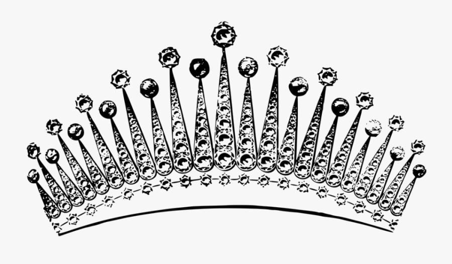 Pink Princess Crown - Queen Crown Silver Png, Transparent Clipart