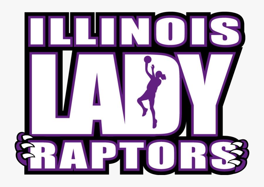 Lady Raptors Logo Copy - Girls Basketball, Transparent Clipart