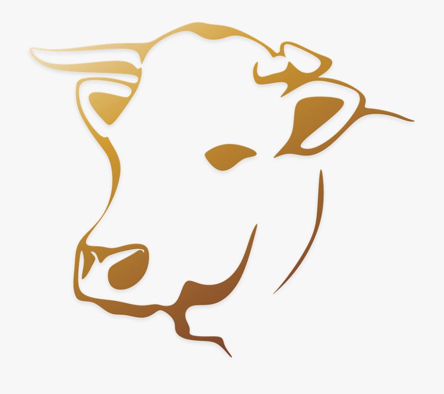 Cow Vector Png, Transparent Clipart