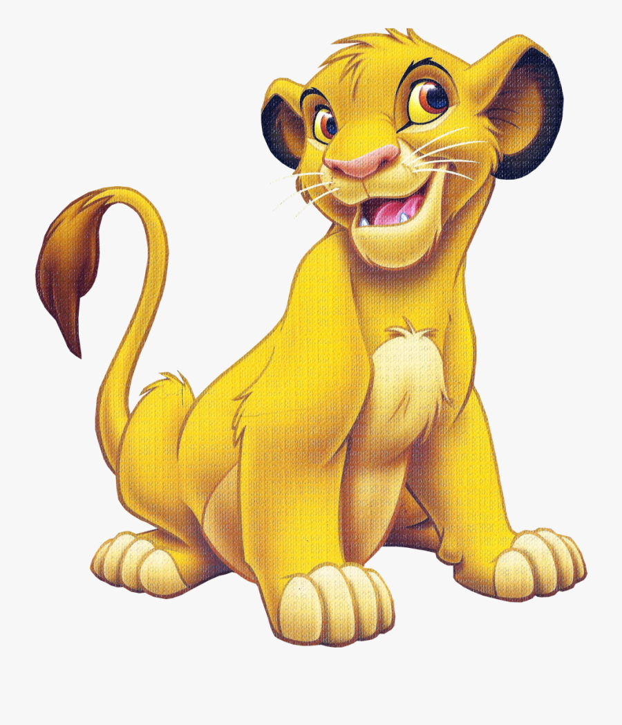 Simba The Lion King Toy Story 2 Mufasa Aristocats - Simba Animated Lion King, Transparent Clipart