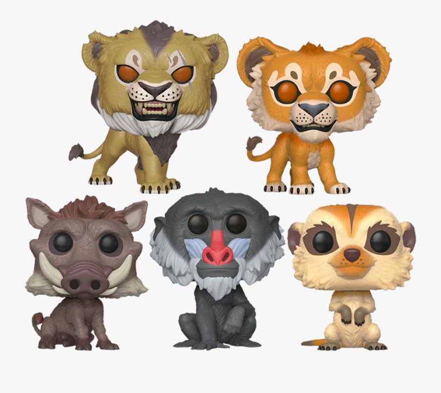 Lion King 2019 Pop Vinyl, Transparent Clipart