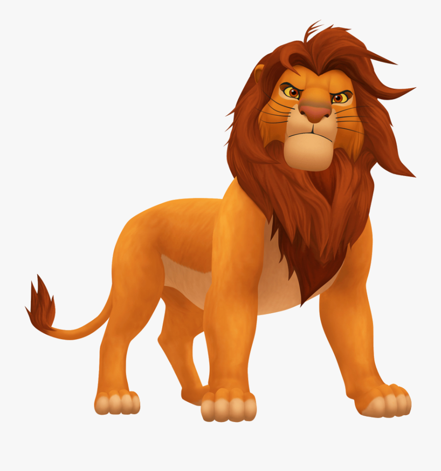 Free Roaring Lion Cartoon, Download Free Clip Art, - Lion King Characters Png, Transparent Clipart