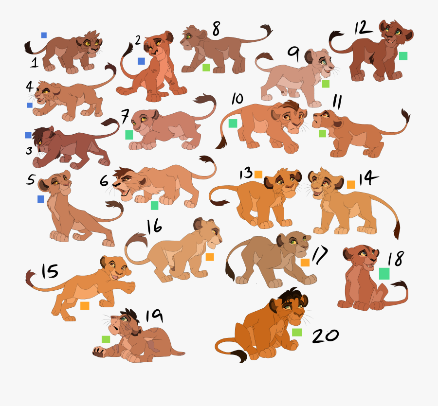 Big Lion King Cub Adopt Sheet Open Lion King Lion Cub Free Transparent Clipart Clipartkey
