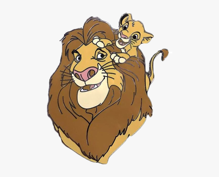 Animal Parents Set Of - Acme Lion King Pins, Transparent Clipart