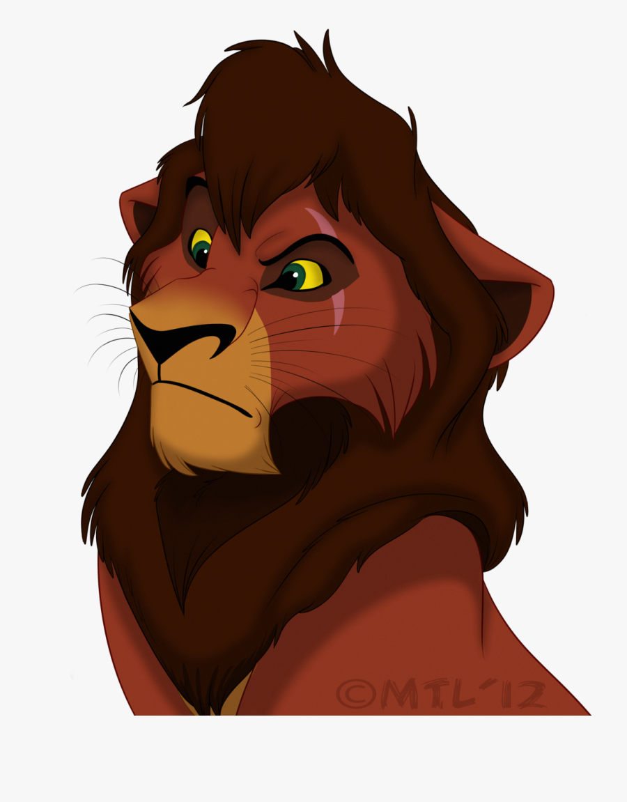 Kovu Clipart Scar Mufasa - Kovu Of Lion King Clipart, Transparent Clipart