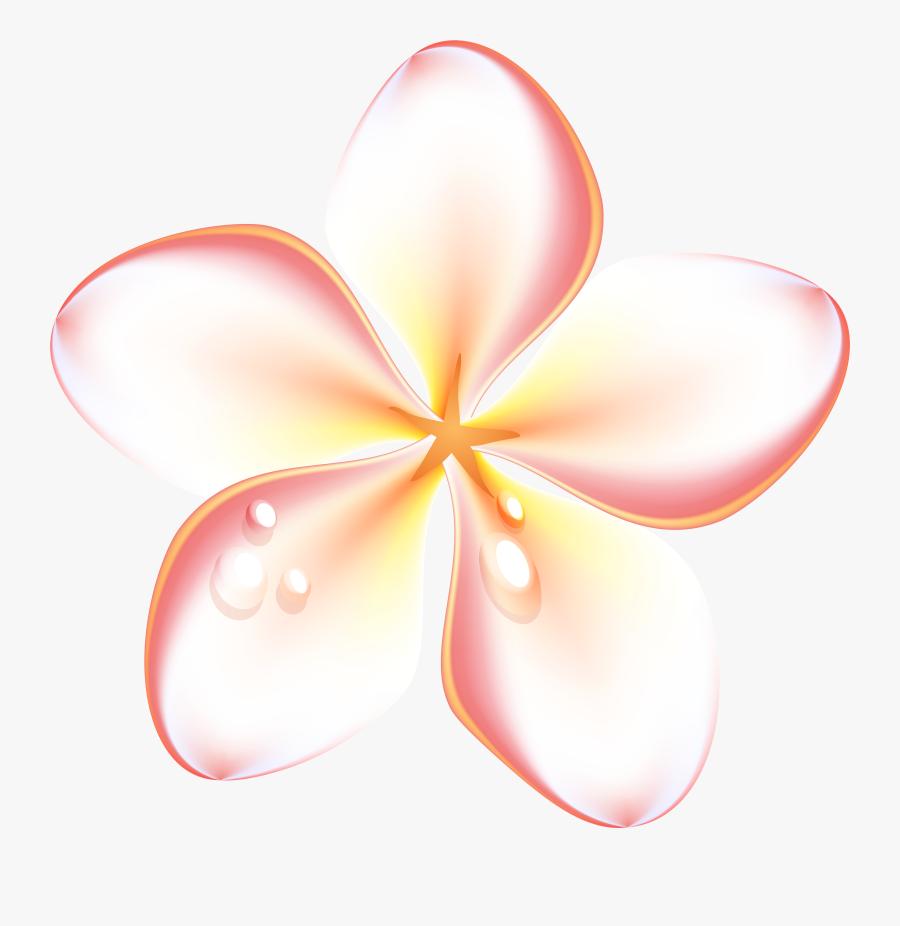 Exotic Summer Flowers Transparent Png Clip Art Image - Flowers For Summer Clipart, Transparent Clipart