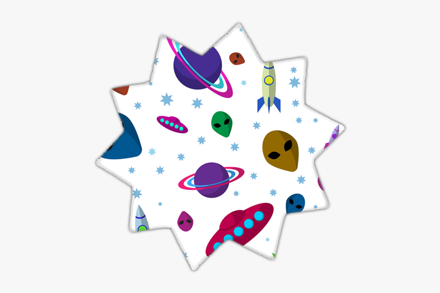 Ufo Aliens Drawing Pattern, Transparent Clipart