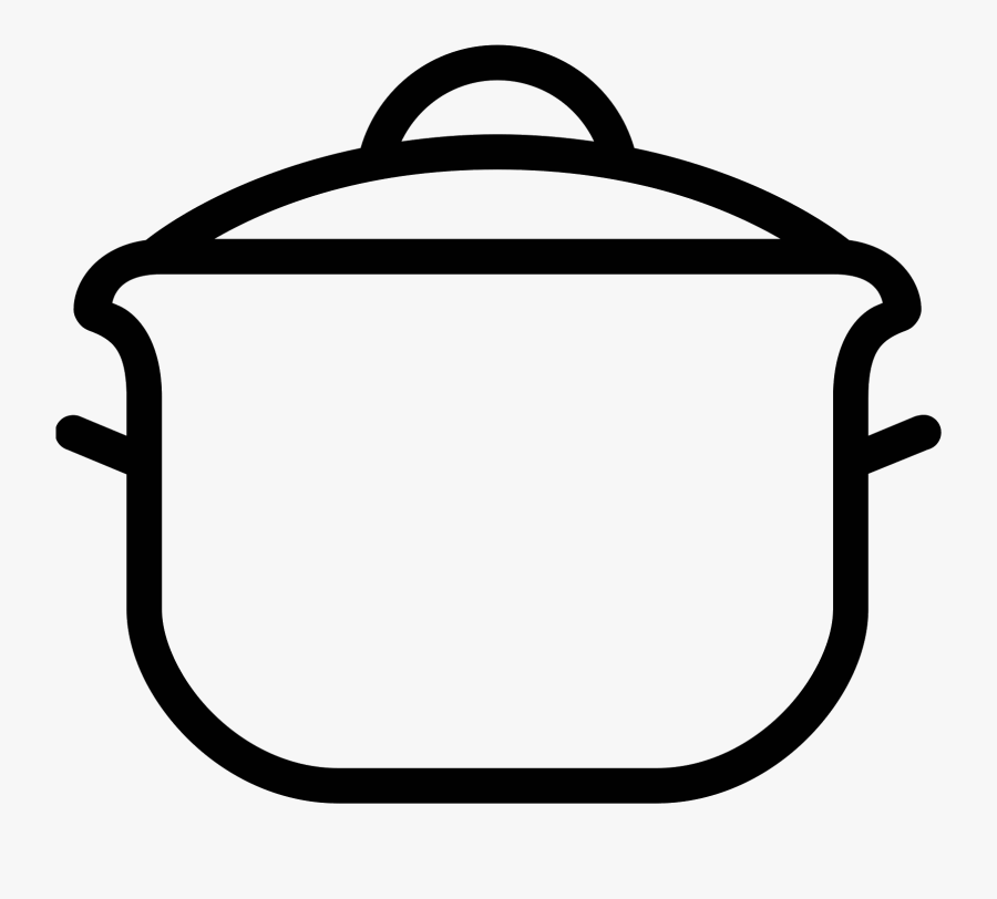 Vector Freeuse Download Pot On Stove Clipart - Easy Cooking Pot Drawing, Transparent Clipart