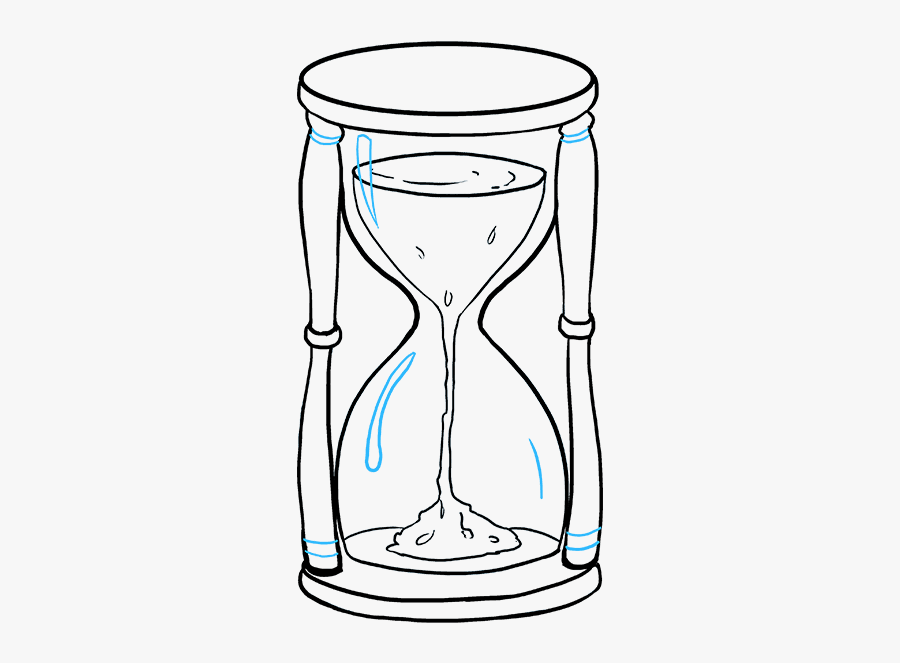 How To Draw An Hourglass Really Easy Drawing Tutorial, Transparent Clipart
