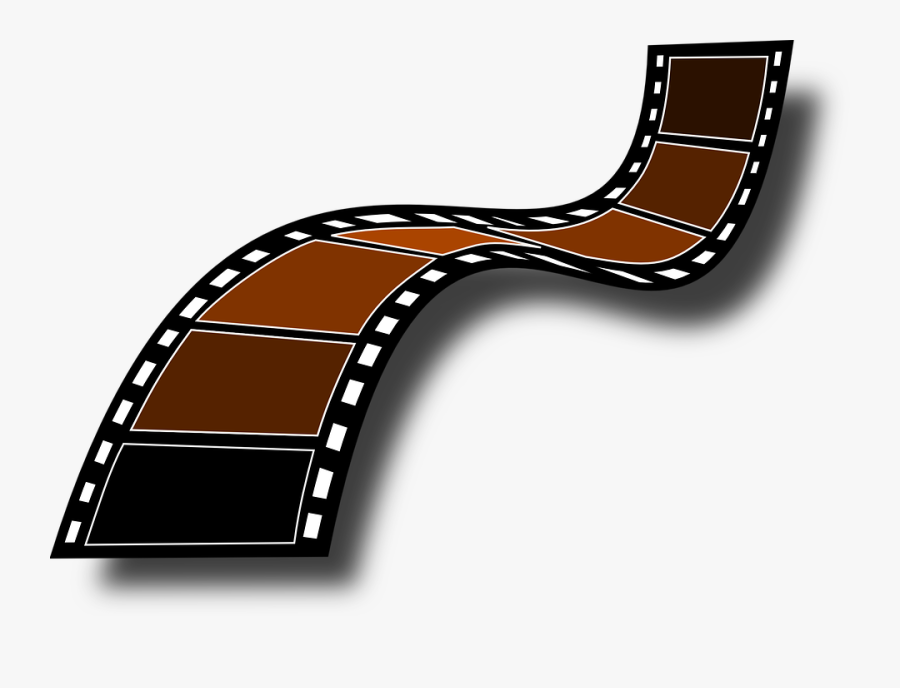 Filmstrip, Film Frames, Camera Film, Roll The Tape - Clip Art Film Strips, Transparent Clipart
