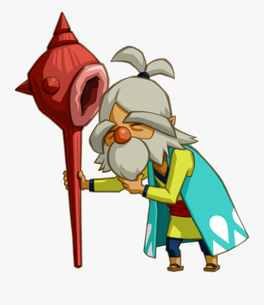 Clip Art Oshus Zeldapedia Fandom Powered - Legend Of Zelda Phantom Hourglass Oshus, Transparent Clipart