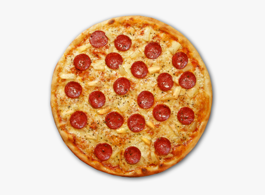 Pizza Sushi Gouda Cheese Bacon Pepperoni - Cheese Pepperoni Pizza Transparent, Transparent Clipart