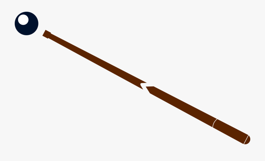 Line,angle,baseball Equipment - Pencil From Top View Png, Transparent Clipart